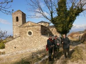 Monasterio de San Victorián. Parte del grupo