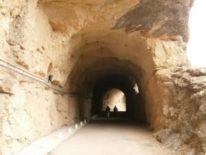 Tunel de acceso a la Presa de Vadiello
