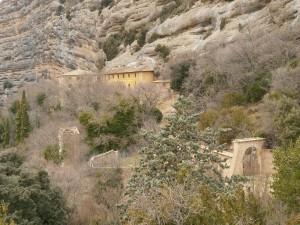 ista de la ermita de San Cosme y San Damián, de subida al Alto de la Carrasca