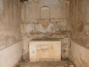 Interior Ermita de San Miguel