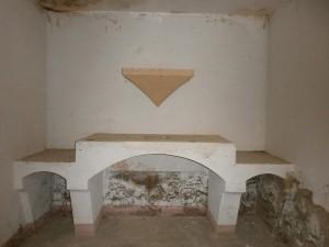 Interior San Cosme y San Damián Fuente Santa