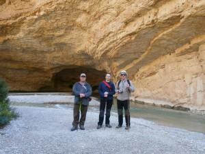 Alquezar. Río Vero. Cueva de Picamartillo
