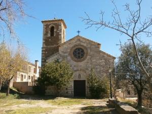Asque. Iglesia de Santa Columba