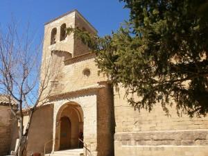 Colungo. Iglesia de San Esteban