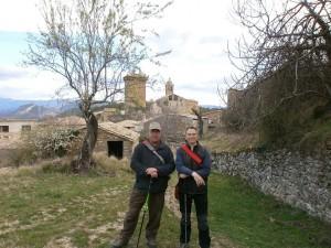 Abizanda. Camino de la ermita de San Salvador