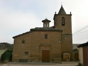 Ayera. Iglesia de San Miguel