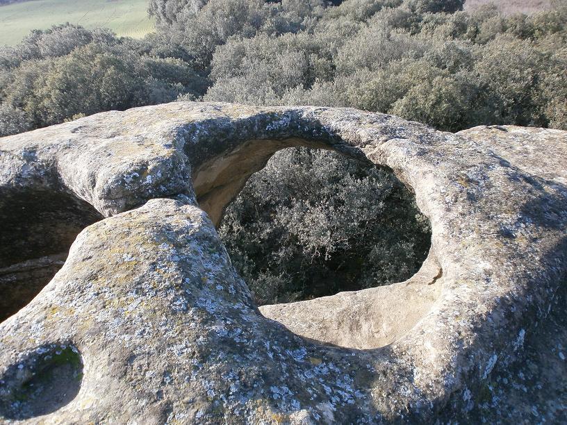 Castillos y torres defensiva La Hoya de Huesca