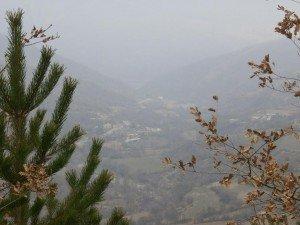 Vista de Beranuy, desde el Pilaret de San Pedro
