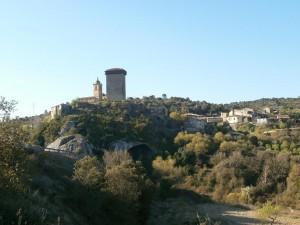 Abizanda. Camino de la ermita de Santiago