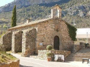 Ligüerre de Cinca. Ermita Virgen del Pilar