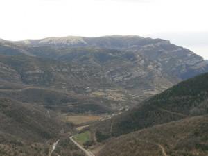 Montes de Calvera y sierra de Sis