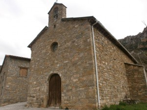 Ballabriga. Iglesia parroquial