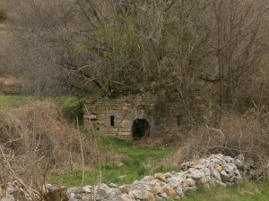 Ballabriga. Ermita de San Miguel, en ruinas