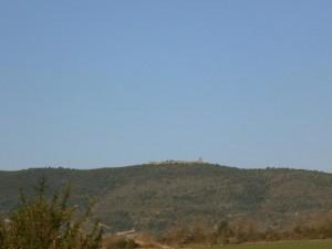 Muro de Roda, desde Tierrantona