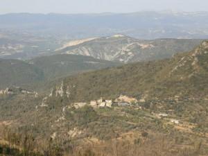 Salinas de Trillo, desde Troncedo