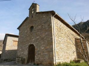 Ballabriga. Iglesia de San Esteban
