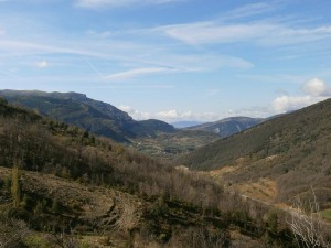 Valle del Isábena, subiendo a Calvera