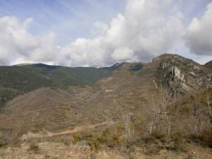 Ballabriga y la croqueta, subiendo a Calvera