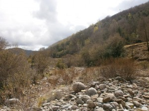 Camino de Morens. Barranco de Castrocit