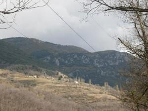 Camino de Morens. Calvera