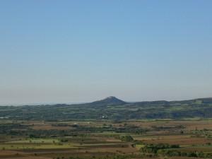 Salas Altas. Vista de El Pueyo y del somontano