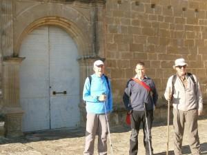 En la ermita de La Candelera, inicio de la marcha