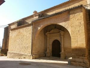 Salas Altas. Iglesia de Santa Ana