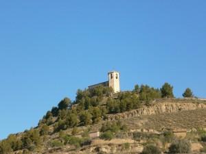 Ermita La Candelera. Camino de Salas Bajas