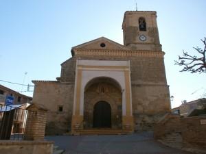 Salas Bajas. Iglesia de San Vicente Mártir