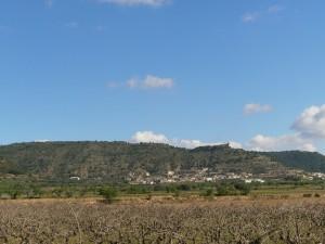 Salas Altas y la ermita de La Candelera