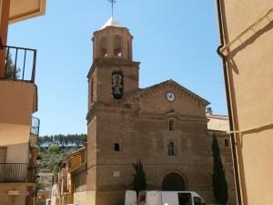 Castillazuelo. Iglesia San Salvador