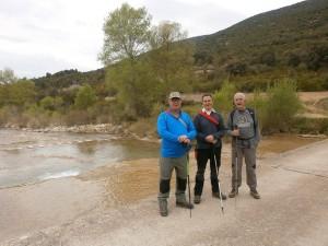 Pedruel. Paso sobre el río Alcanadre