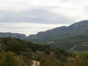 Valle de Rodellar, camino de Bierge