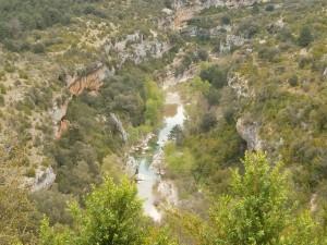 Río Alcanadre en La Peonera