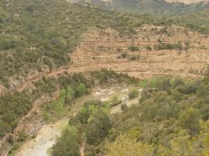 Río Alcanadre. Camino de Bierge
