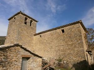 Las Almunias de Rodellar. Iglesia parroquial