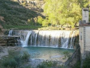 Salto de Bierge- Río Alcanadre