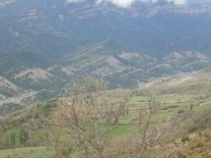 Merli. Una vista del pueblo abandonado de Nocellas