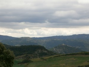Esdolomada. Vista de Roda de Isábena
