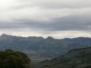 Esdolomada. Una vista de San Esteban del Mall
