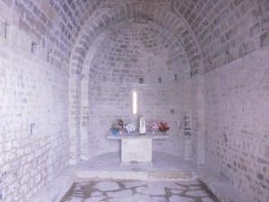 Chiriveta. Interior ermita Ntra. Sra. del Congost