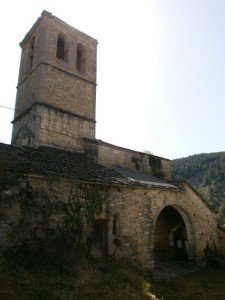 Formigales. Iglesia de Santa Eulalia