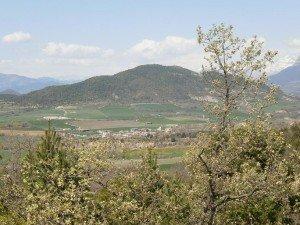 Tierrantona desde Morillo de Monclús