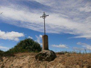 "Adahuesca. Cruces del ""Vía Crucis"""