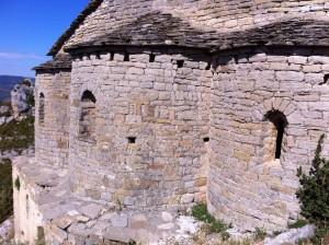 Samitier. Ábsides iglesia Santos Emeterio y Celedonio