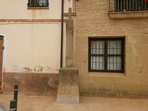 Berbegal. Cruz de San Agueda