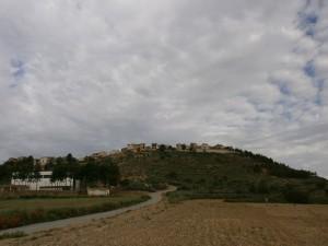 Berbegal. Camino de Santa Águeda