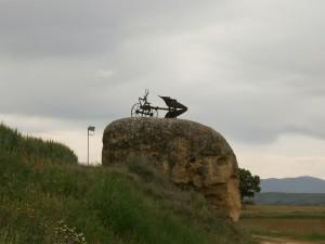 Berbegal. Original representación escultórica