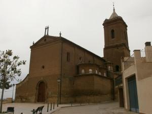 Selgua. Iglesia de Santa María del Romeral