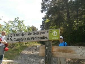 Congosto de Ventamillo. Alto de La Puyada